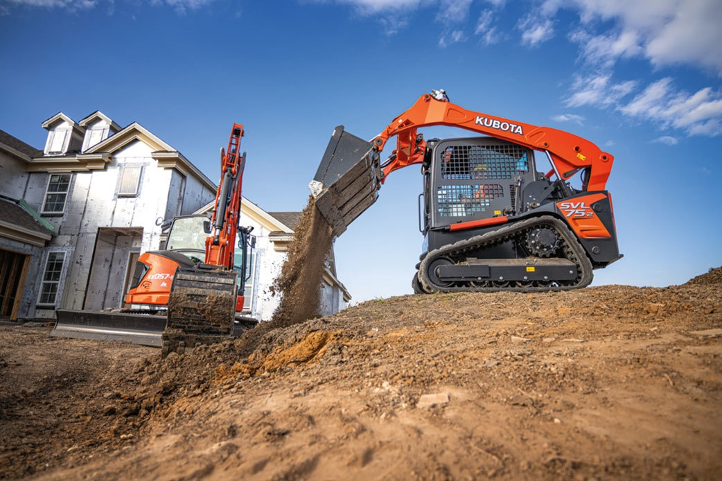 Do More on Your Jobsite with Kubota Construction Equipment