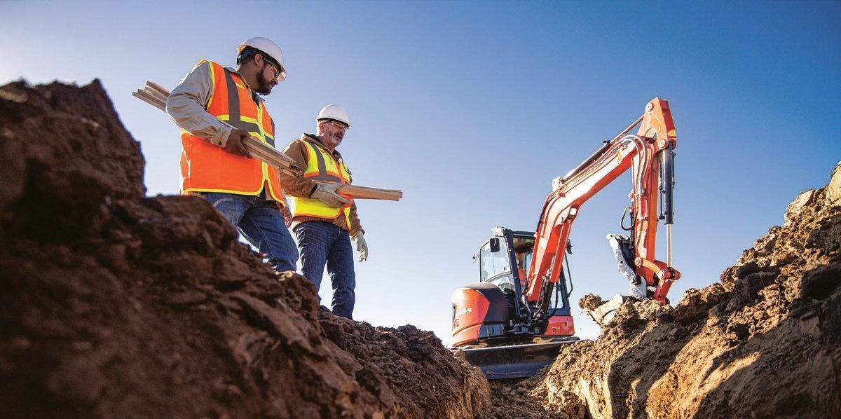 Kubota Introduces U48-5: All-New, Tech-Forward, 5-Ton Tight Tail Excavator